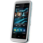Náhled Nokia 5530 XpressMusic White/Blue - Foto 3 Mpix, WiFi, MP3, bluetooth
