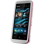 Náhled Nokia 5530 XpressMusic White/Pink - Foto 3 Mpix, WiFi, MP3, bluetooth, stereoreproduktory, 3.5 mm jack