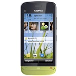 N�hled Nokia C5-03 Lime Green