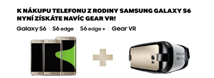 Kup si Galaxy z řady S6 a získej brýle Gear VR!