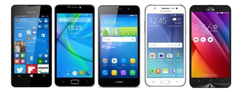 TOP mobilní telefony do 5000Kč!