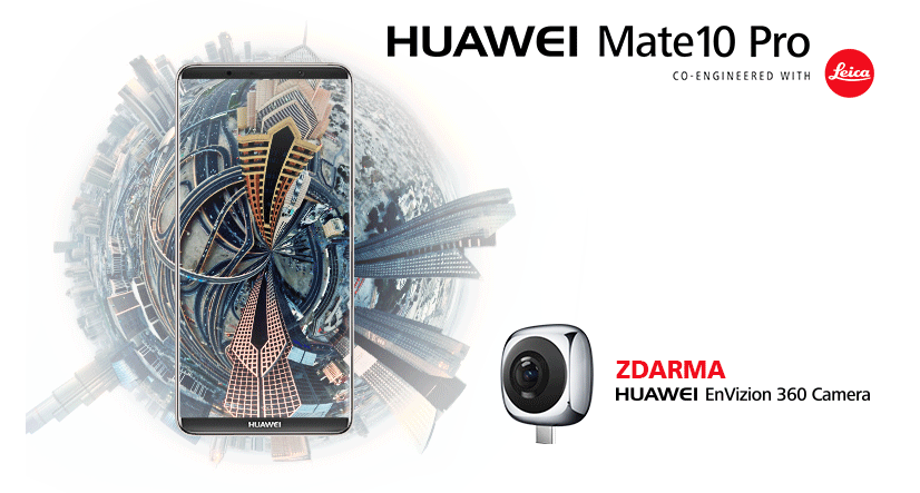 Předobjednej Huawei Mate 10 Pro a dostaneš 360° kameru ZDARMA - ukončeno
