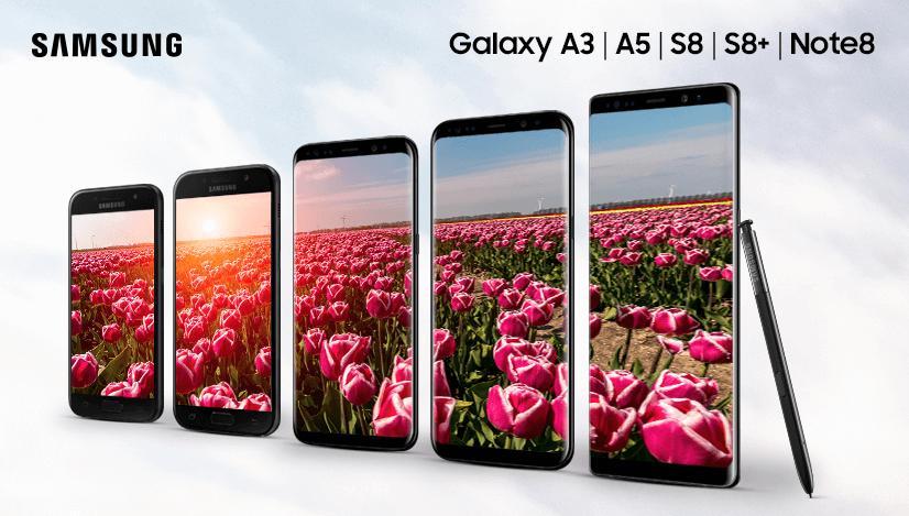 Pořiďte si v průběhu května některý z vybraných smartphonů Galaxy a  získejte zpět až 4 000 7636fbd205