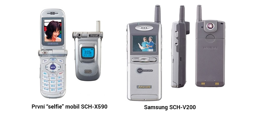 Vývoj fotoaparátu v mobilu
