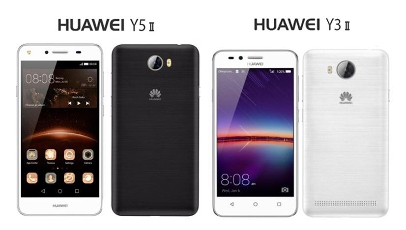 Huawei Y3 II a Huawei Y5 II - telefony za mini cenu!