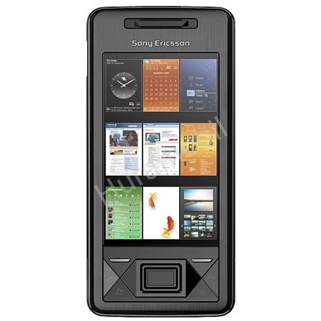 Sony Ericsson XPERIA™ X1 Solid Black ENG