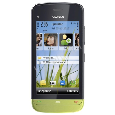Nokia C5-03 Lime Green