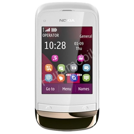 Nokia C2-02 Golden White