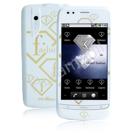 ZTE P729V Blade Fashion TV White