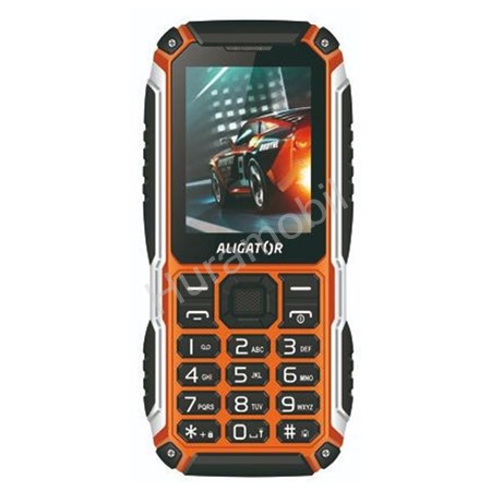 Aligator R30 eXtremo Black/Orange