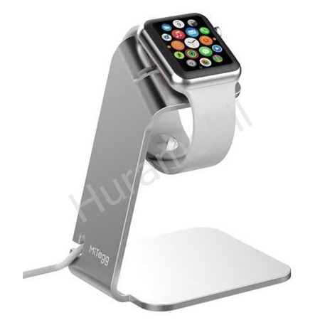 MiTagg NuStand pro Apple Watch silver (EU Blister)