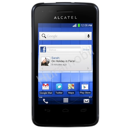 ALCATEL ONETOUCH 4010D T´POP Bluish Black