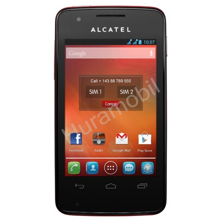 ALCATEL ONETOUCH 4030D S´POP Cherry Red