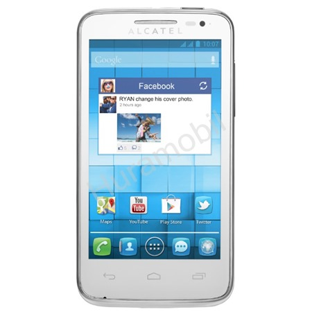 ALCATEL ONETOUCH 5020D M´POP Pure White