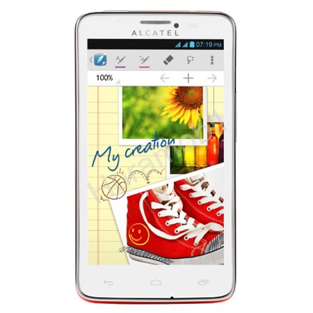 ALCATEL ONETOUCH 8000D SCRIBE EASY Flash Red