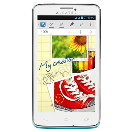 ALCATEL ONETOUCH 8000D SCRIBE EASY Flash Blue