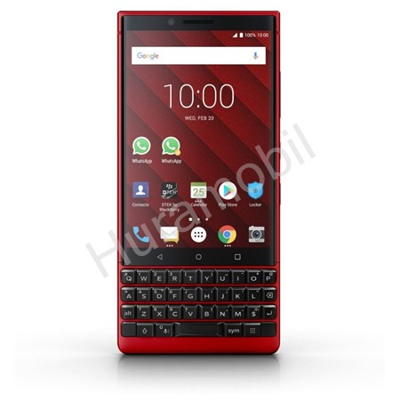 Blackberry Key2 QWERTY 6GB/128GB Dual-SIM Red Limited Edition