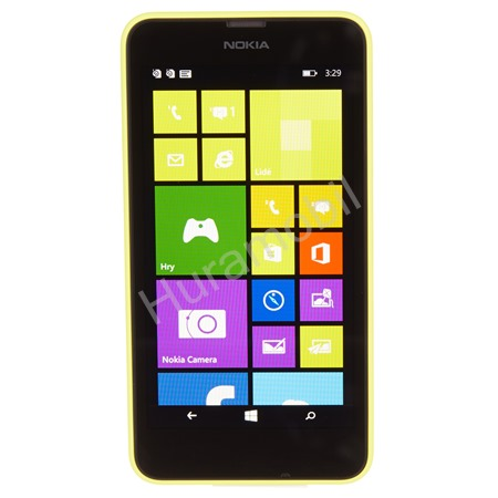 Nokia Lumia 630 Dual-SIM Yellow/Black