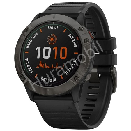 Garmin fenix 6X Solar TitaniumGrayDLC/Black (MAP/Music)