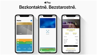 Služba Apple Pay dorazila do ČR!