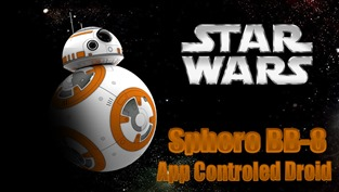 Robot BB-8 ze Star Wars