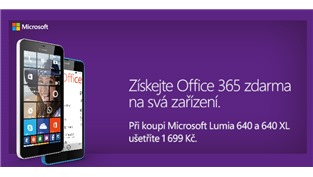Lumia 640 + zdarma Office 365