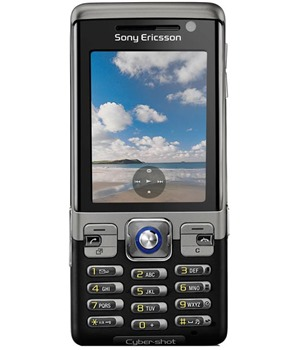 Sony Ericsson C702 Speed Black