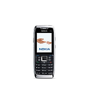 Nokia E51 White Steel