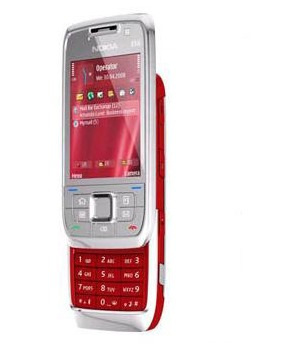 Nokia E66 Steel Red