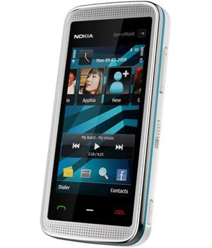 Nokia 5530 XpressMusic White/Blue - Foto 3 Mpix, WiFi, MP3, bluetooth