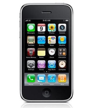 Apple iPhone 3GS 32GB Black - Foto 3Mpix, Bluetooth(A2DP), Wi-Fi, AGPS, MP3, HSDPA, Dotykový displej