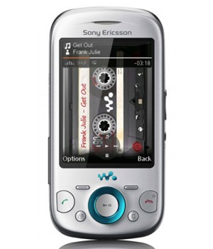 Sony Ericsson W20i Zylo Chacha Silver T-Mobile
