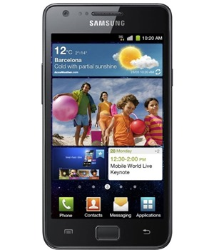 Samsung i9100 Galaxy S II 16GB Noble Black (GT-I9100LKAXEZ)