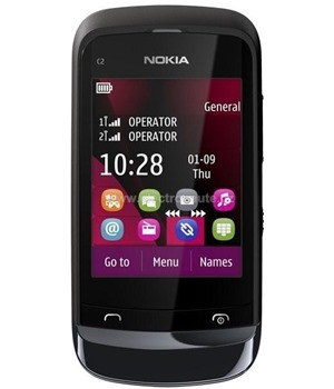 Nokia C2-03 Chrome Black