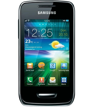 Samsung S5380 Wave Y Sand Silver (GT-S5380SSAXEZ)