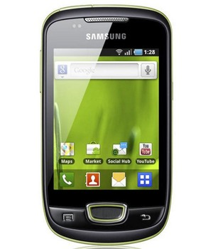 Samsung S5570i Galaxy Mini Lime Green