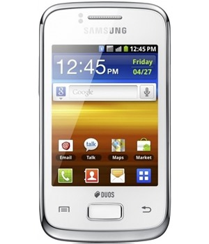 Samsung S6102 Galaxy Y DUOS Pure White (GT-S6102UWAXEZ)