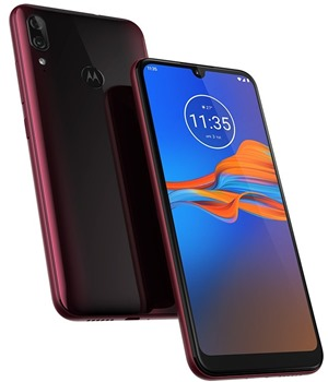 Motorola Moto E6 Plus 4GB/64GB Dual-SIM Rich Cranberry