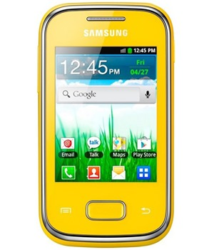 Samsung S5300 Galaxy Pocket Yellow