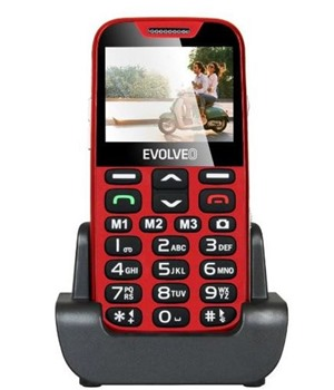 EVOLVEO EasyPhone XD Red