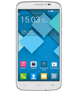 ALCATEL ONETOUCH 7041D POP C7 Pure White