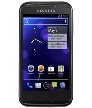 Alcatel One Touch 993D Black