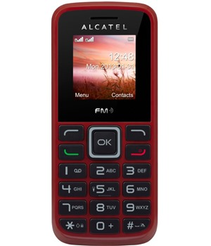 ALCATEL ONETOUCH 1010D Deep Red