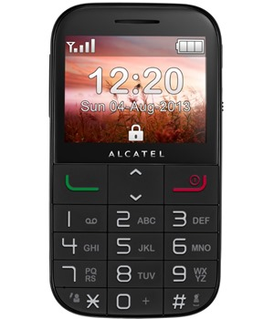 ALCATEL ONETOUCH 2000 Black