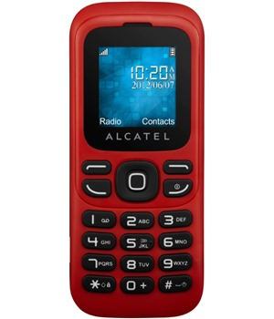 ALCATEL ONETOUCH 232 Red