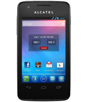 ALCATEL ONETOUCH 4030D S´POP Pure White