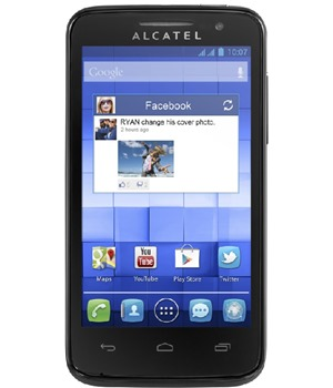 ALCATEL ONETOUCH 5020D M´POP Pure Black