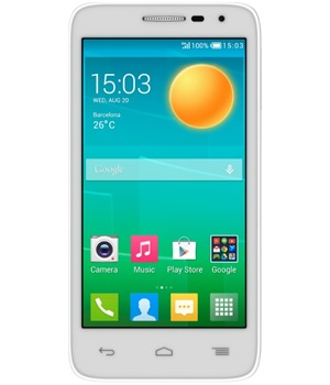 ALCATEL ONETOUCH 5038D POP D5 Full White