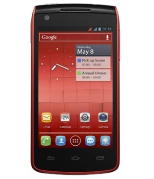 Alcatel One Touch 992D Dual-SIM Cherry Red