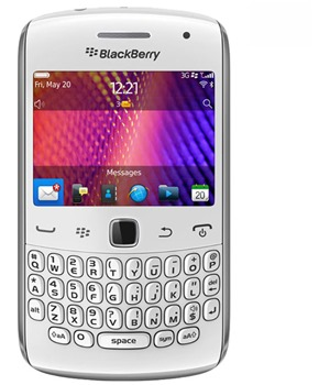 BlackBerry 9360 Curve QWERTY White